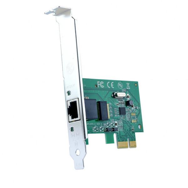 Carte Réseau PCIE - 10/100/1000 Mbps Gigabit Ethernet