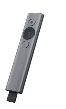 Télécommande Universelle Logitech Spotlight SLATE - Sans fil - Pour Ordinateur Portable, PC - Bluetooth