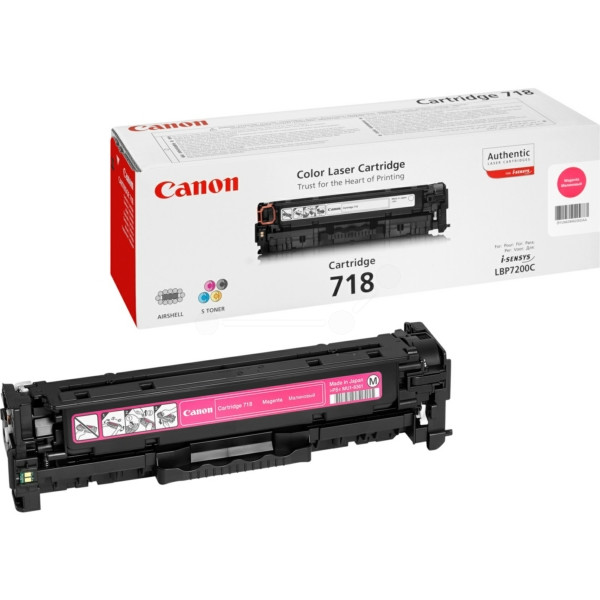MB HP CP2025 (304A); Canon LBP-7200 (718M) Magenta