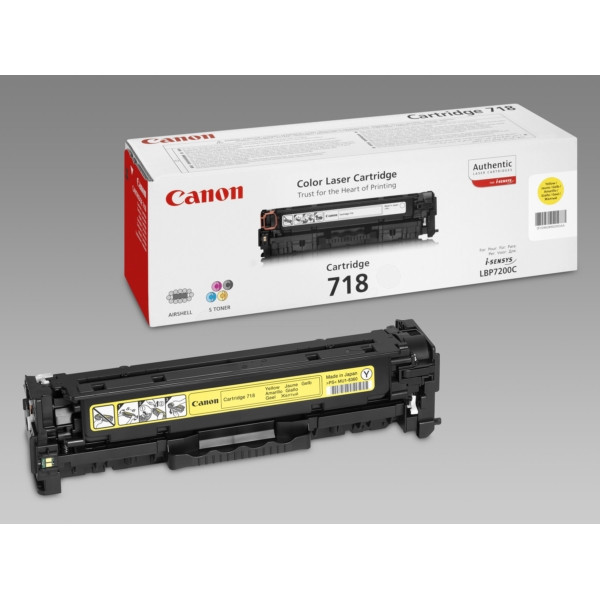 MB HP CP2025 (304A); Canon  LBP-7200 (718Y) Yellow