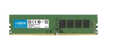 Module de RAM Crucial pour Ordinateur de bureau - 16 Go (1 x 16 Go) - DDR4-2666/PC4-21300 DDR4 SDRAM - 2666 MHzCL19 - 1,20