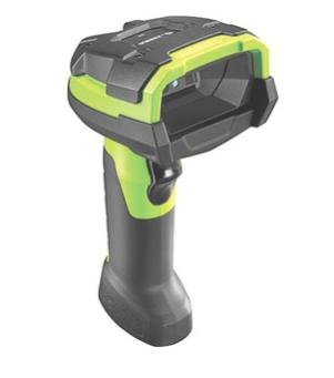 Lecteur codes barres portable Zebra LI3608-SR - Vert industriel - Câble Connectivité - 1D - Imager