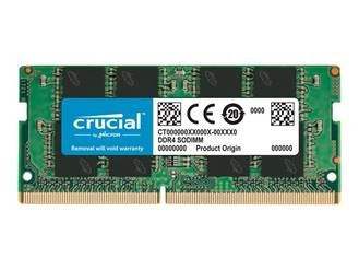 Mémoire Crucial DDR4 8Go SO DIMM 260 broches CL19