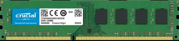 Mémoire Crucial DDR3L 8GoDIMM 240broches