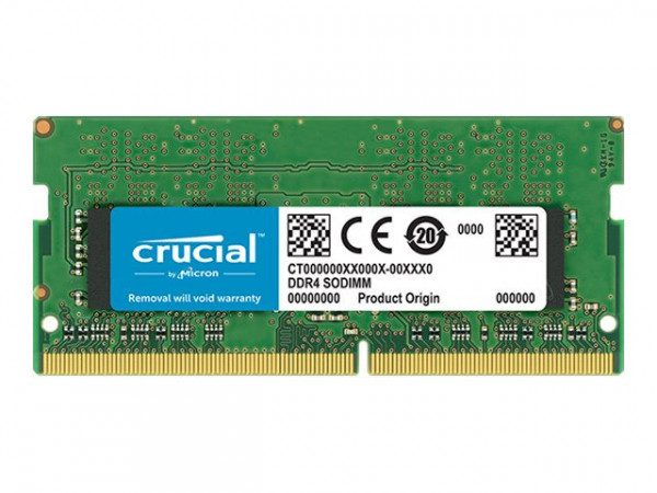 Mémoire Crucial DDR4 16 Go - SO DIMM 260 broches - 2400 MHz / PC4-19200