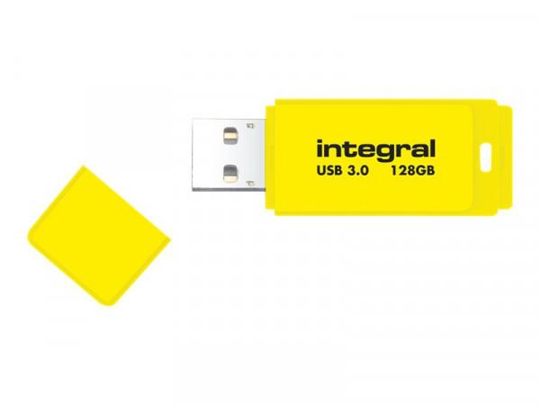 Clé USB néon jaune 32GO