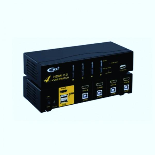 KVM 4 ports HDMI/USB 1080p-Livré avec cordons 1.5m