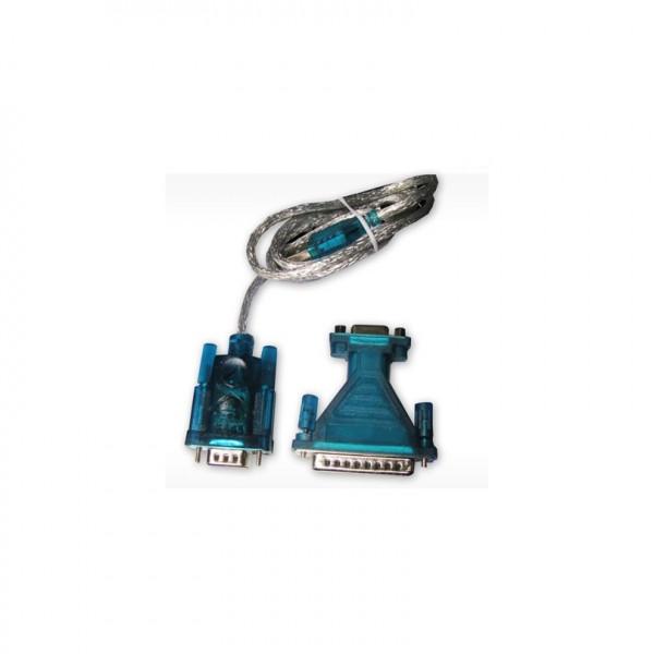 ADAPTATEUR USB 2.0 - SÉRIE RS-232 DB9 - 1.8 M