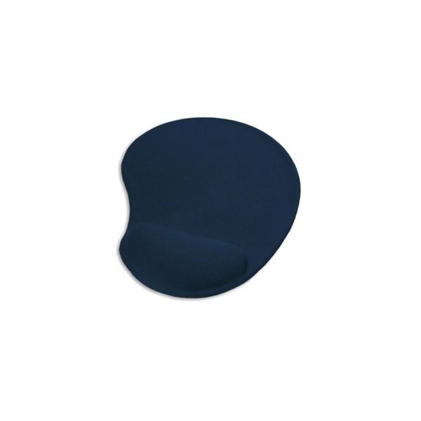 Tapis de souris bleu avec repose-poignet