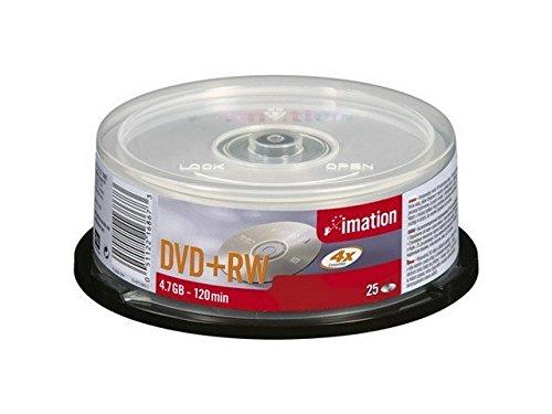 Imation DVD+RW 4.7 Gb 4x spindle 25