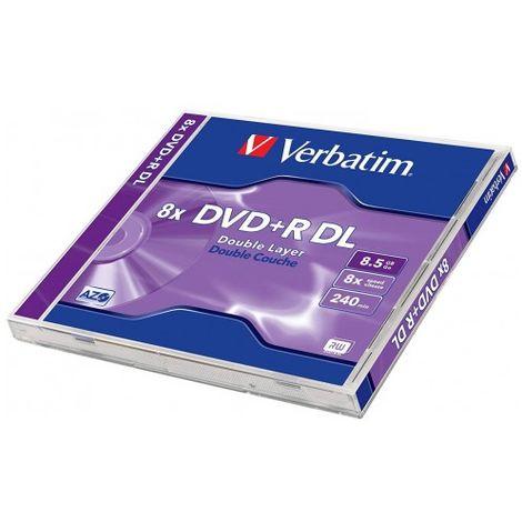 VERBATIM DVD + R 8.5 GB 8X DL