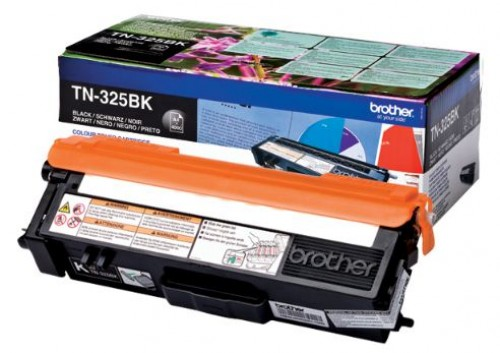 Brother TN325BK Toner Noir 4000 pages pour HL-4140/4150/4570 Black