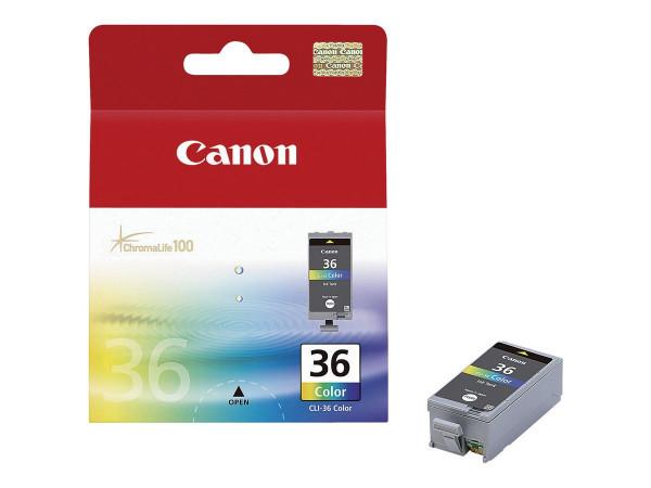 Cartouche Canon couleurs CLI-36