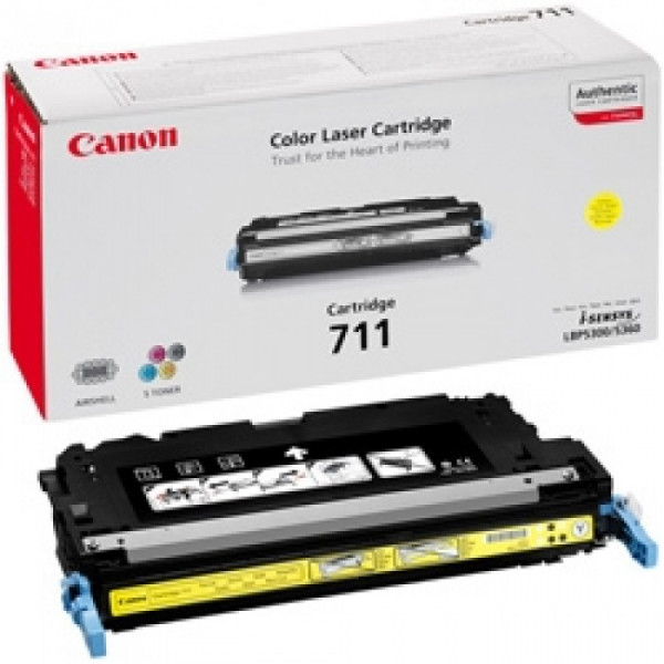 Canon I-Sensys LBP-5300/5360 (711Y) Yellow