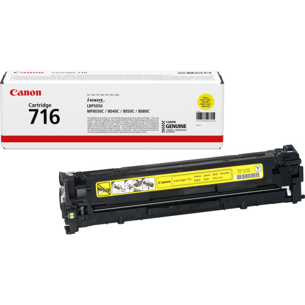 Canon I-Sensys LBP-5050 (716Y) Yellow