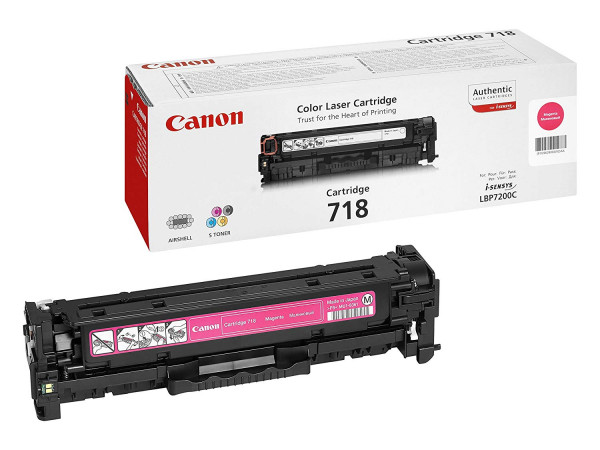 Canon I-Sensys LBP-7200/7210/7660/7680 (718M) Magenta