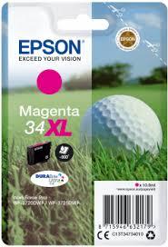 Cartouches Epson 34XL noire et couleurs