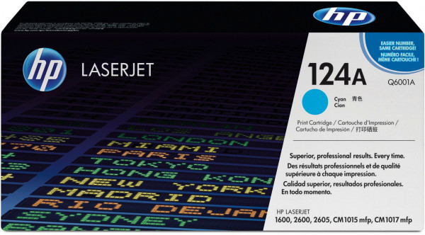 HP Color LaserJet 1600/2600 (124A) Cyan