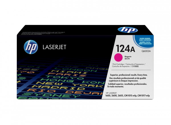 HP Color LaserJet 1600/2600 (124A) Magenta