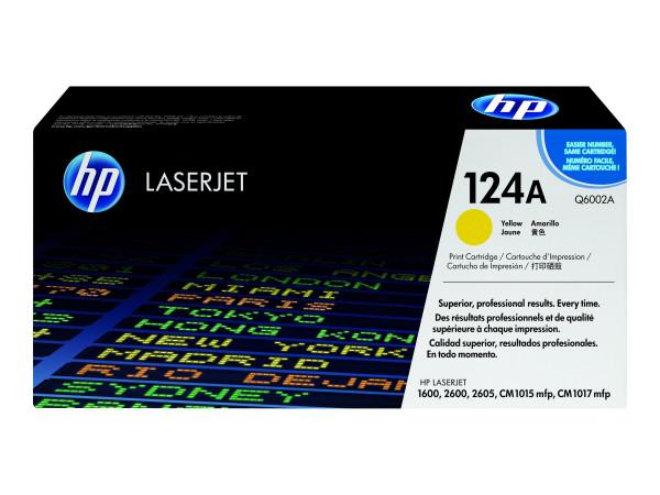HP Color LaserJet 1600/2600 (124A) Yellow