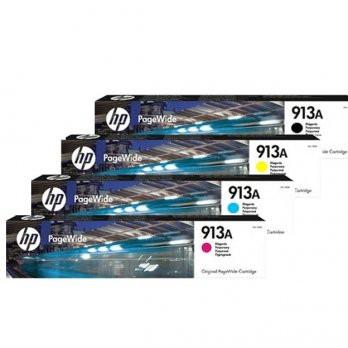 HP 913A noire et couleurs