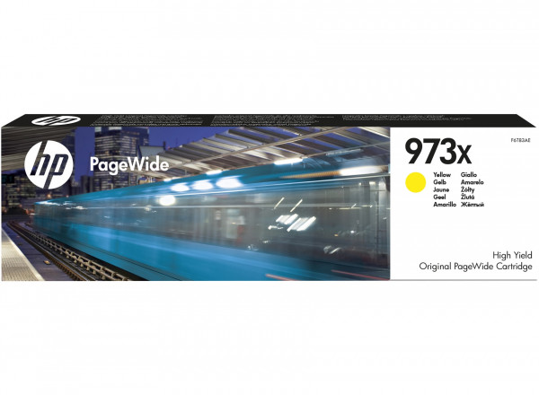 Cartouche HP 973X PageWide Yellow