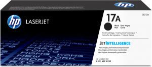 HP Cartouche 17A Toner Noir 1 600 pages