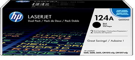 HP Color LaserJet 1600/2600 (124A) Black