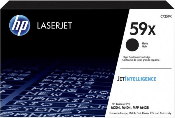 Toner noir Laserjet haute capacité 59X